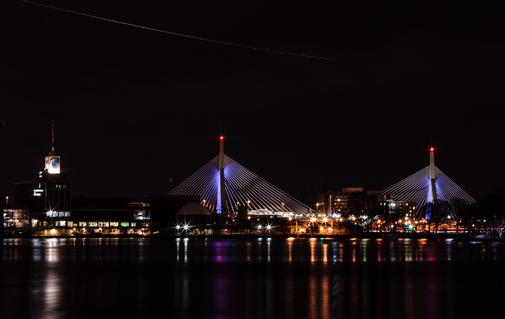 Zakim Bridge, Boston MA | Christina Minniti Photography