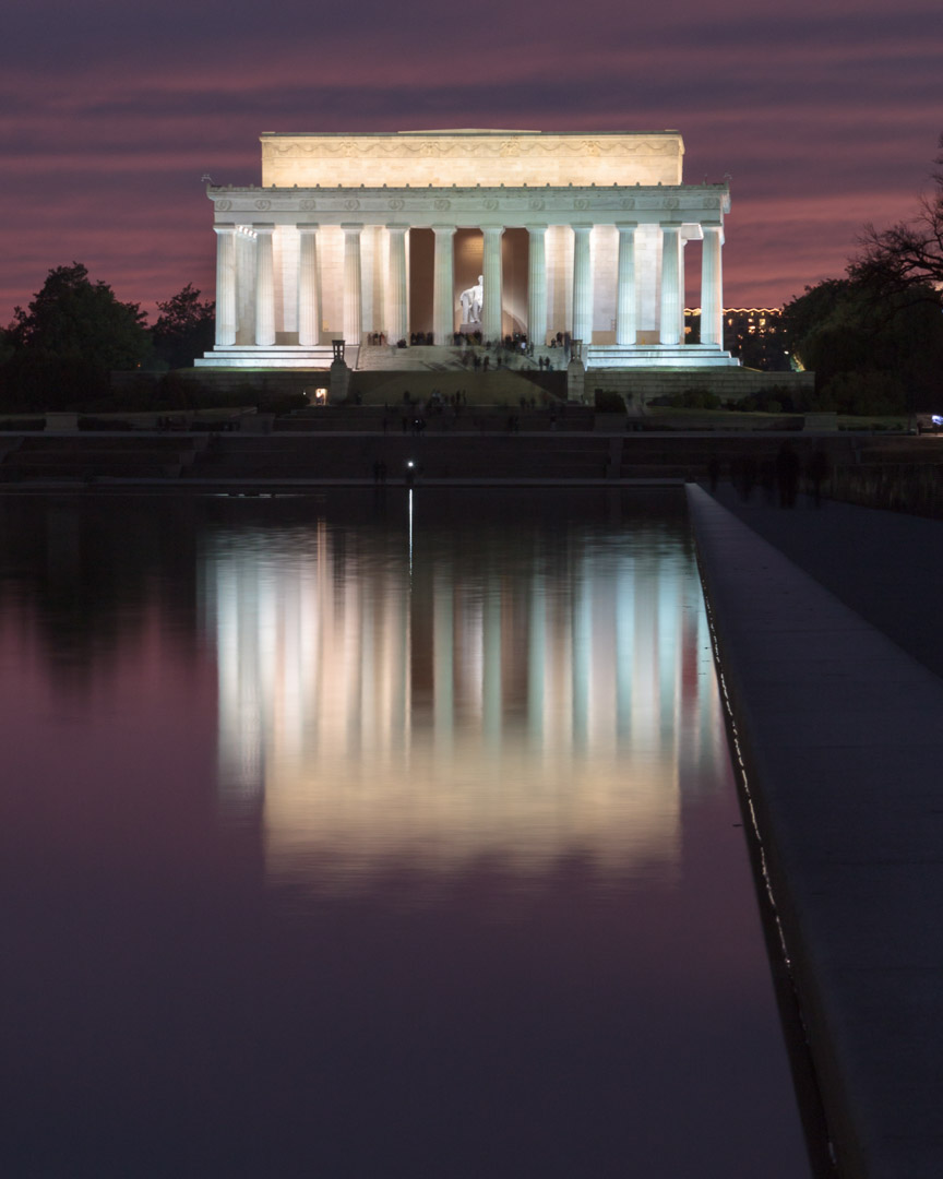 Abraham Lincoln Memorial, Washington D.C. | Christina Minniti Photography